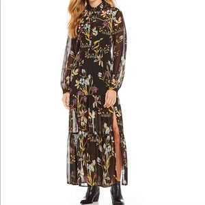 Willow & Clay Dresses - SOLD:: Long Sleeve Floral Maxi Dress